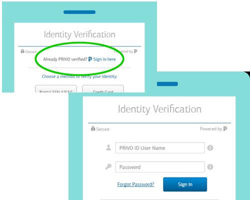 PRIVO iD Verified Accounts